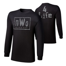 "nWo ""4 Life"" Long Sleeve T-Shirt"