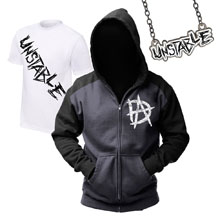 "Dean Ambrose ""Unstable"" T-Shirt & Hoodie Package"