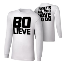 "Bo Dallas ""BOLIEVE"" Long Sleeve T-Shirt"