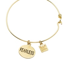 Fearless Nikki Gold Wire Bracelet