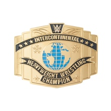 WWE Intercontinental Championship Belt Buckle