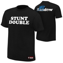 "Damien Mizdow ""Stunt Double"" Authentic T-Shirt"