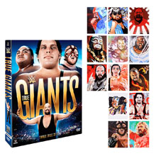True Giants DVD Artwork Package