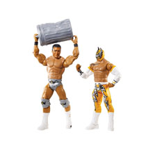Sin Cara & Alberto Del Rio Battle Pack Series 31 Action Figures