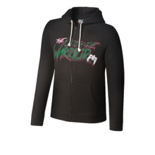Ultimate Warrior Full-Zip Hoodie Sweatshirt