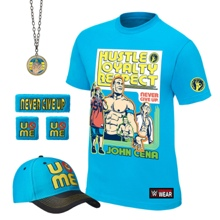 """John Cena """"Throwback"""" Authentic T-Shirt Package"""