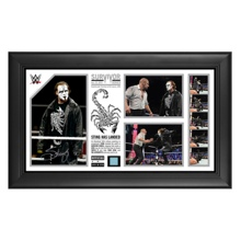 "Sting Signed ""Sting Has Landed"" Commemorative Survivor Series 2014 Plaque"