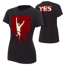 "Daniel Bryan ""Yes Revolution"" Women's Authentic T-Shirt"