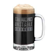 Dean Ambrose 16 oz Glass Mug