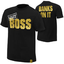 "Sasha Banks ""Legit BOSS"" Youth Authentic T-Shirt"