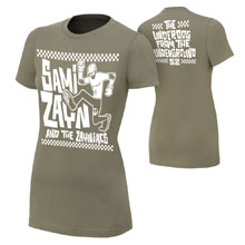 "Sami Zayn ""Underdog From The Underground"" Women's Authentic T-Shirt"