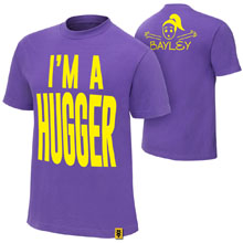 "Bayley ""I'm A Hugger"" Authentic T-Shirt"