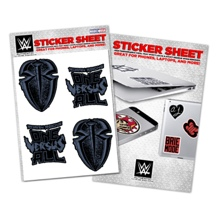 Roman Reigns Vinyl Sticker Sheet
