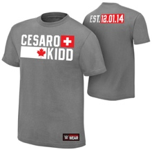 "Cesaro & Tyson Kidd ""Established"" Authentic T-Shirt"