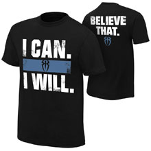 "Roman Reigns ""I Can I Will"" Youth Authentic T-Shirt"