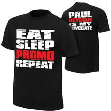 "Paul Heyman ""Advocate"" Authentic T-Shirt"