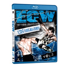 ECW Unreleased Volume 3 Blu-ray