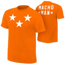 "Macho Man ""Stars"" Authentic T-Shirt"