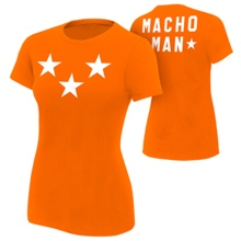 "Macho Man ""Stars"" Women's Authentic T-Shirt"