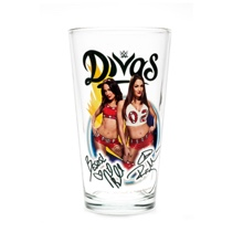 The Bella Twins Toon Tumbler Pint Glass