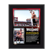 John Cena WrestleMania 31 10 x 13 Photo Collage Plaque