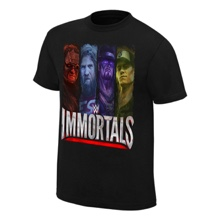 "WWE Immortals ""Beyond The Ring"" Official T-Shirt"