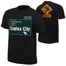"Brock Lesnar ""Suplex City"" Youth Authentic T-Shirt"