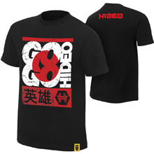 "Hideo Itami ""Go Go Hideo"" Authentic T-Shirt"