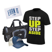 CENA Training Men's T-Shirt Package