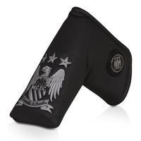 Manchester City Executive Golf Blade Putter Cover and Ball Marker -Black/Silver