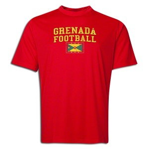 Grenada Training T-Shirt Red L