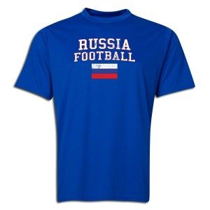 Russia Polyester T-Shirt