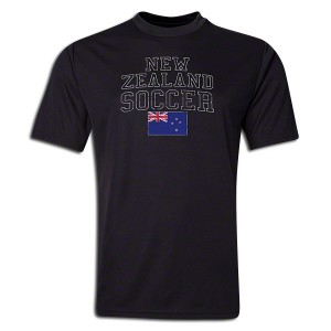 New Zealand Polyester T-Shirt Black L