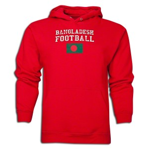 Bangladesh Hoody Red L