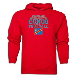 Congo DR Hoody Red L