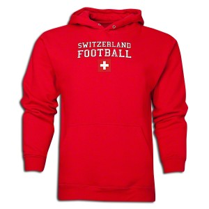 Switzerland Sweatshirt Red L