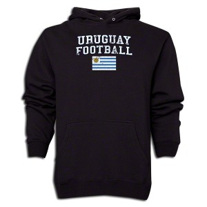 Uruguay Distressed Sweatshirt Black L