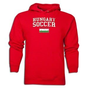 Hungary Hoody Red L