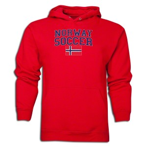 Norway Hoody Red L