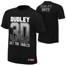 "The Dudley Boyz ""Get The Tables"" Youth Authentic T-Shirt"