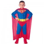 Superman Child Muscle Chest Costume
