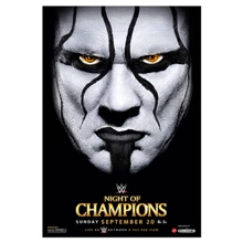 WWE Night of Champions 2015 Poster