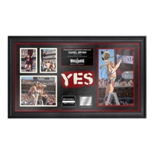Daniel Bryan WrestleMania 31 Signed Commemorative Ladder Piece Framed Collage