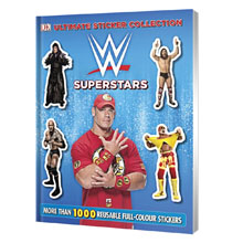 WWE Superstars Ultimate Sticker Collection
