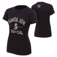 "Samoa Joe ""Submission Specialist"" Women's Authentic T-Shirt"
