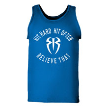 "Roman Reigns ""Hit Hard"" Men's Premium Tank Top"
