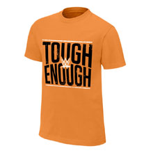 Tough Enough Orange Youth T-Shirt