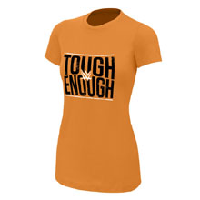 Tough Enough Orange Women's T-Shirt