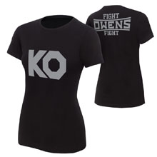 "Kevin Owens ""KO Fight"" Women's Authentic T-Shirt"