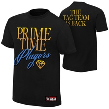 "Prime Time Players ""The Tag Team is Back"" Authentic T-Shirt"